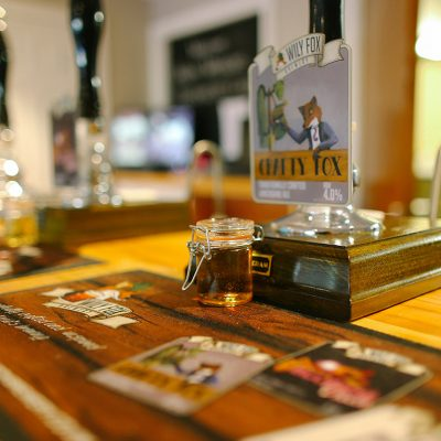Beer tour at The Wily Fox Brewery in Wigan, Wigan's biggest micro brewery