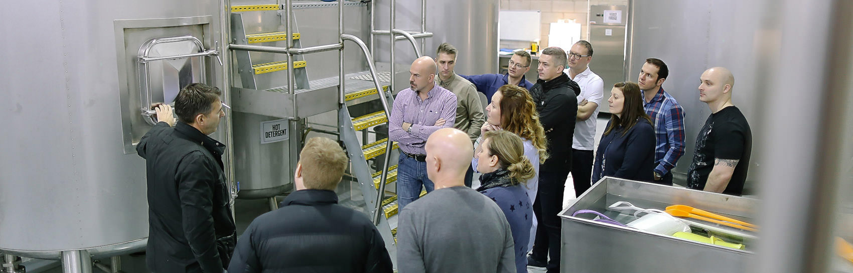 BUSINESS MEETING AND BREWERY TOURS
