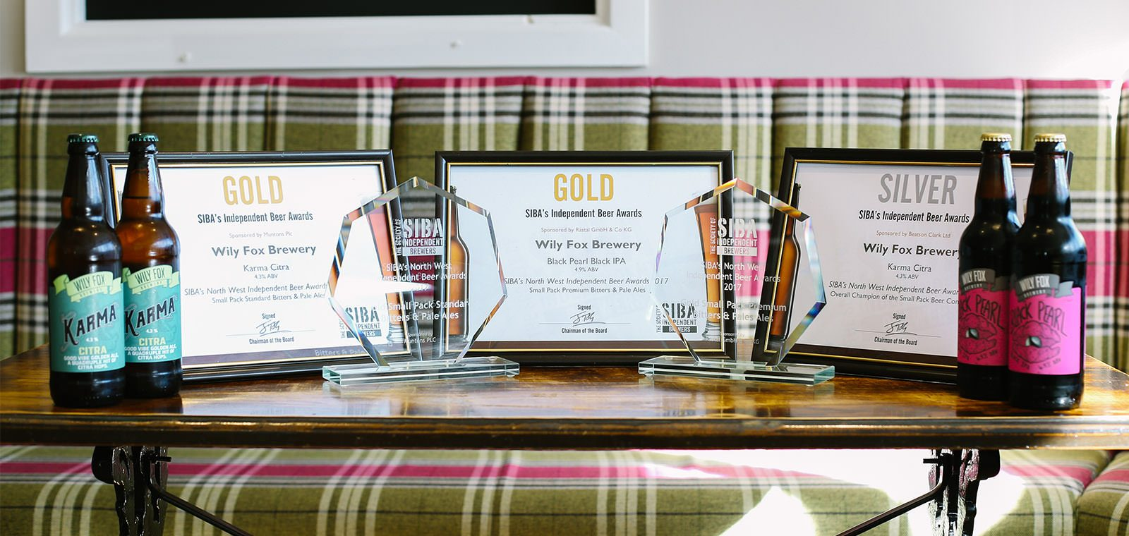 SCOOPING UP A FEW GOLD & SILVER SIBA BEER AWARDS